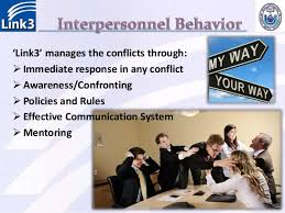 organizational behavioral practices in link technologies communication 33