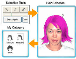 How To Find Your Hairstyle hair style sofware and color simulation software change my image 2264 by stevesalt.us