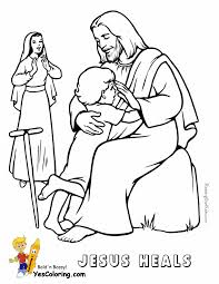 We are glorified as we are made one with him in love, which is most truly human because it is most. Glorious Jesus Coloring Bible Coloring Free Printable Kids