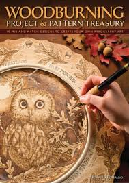 Pyrography Designs Book Book S Pdf Woodburning Project And Pattern Treasury