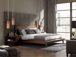modern queen bed frame. Mid Century Modern Bed   Queen Leather King Size Beds Frame