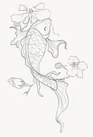 Pin by Priscilla Garrett on art sketches in 2020 | Koi fish drawing,  Japanese koi fish tattoo, Koi tattoo design