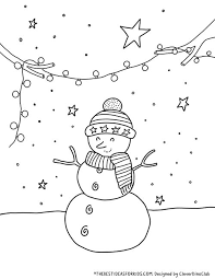 Learning is fun at squigly's playhouse. Christmas Coloring Pages The Best Ideas For Kids