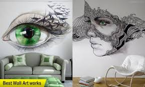 660x400 25 beautiful wall art works from top artists around the world on wall paintings artistic with wall art drawing at getdrawings free for personal use wall art