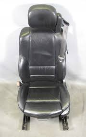 bmw e46 m3 m convertible cabrio left front drivers seat black leather oem