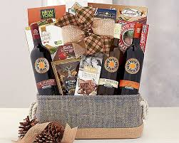 a day in naples wine gift basket