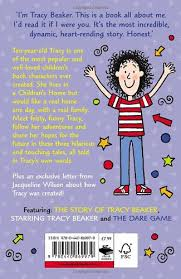 She was a bit of a nob most of the time but gave every british kid the gift of bog off, which i'm sure all parents loved. The Tracy Beaker Trilogy Wilson Jacqueline 9780440869979 Amazon Com Books