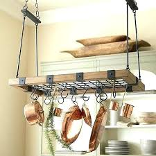 Kitchen hanging rack Ceiling Kitchen Pot Hanging Racks Kitchen Hanging Rack Best Wooden Pot Racks Images On Kitchen Pots And Kitchen Pot Hanging Racks Nfseinfo Kitchen Pot Hanging Racks Kitchen Hanging Kitchen Pot Rack Ceiling