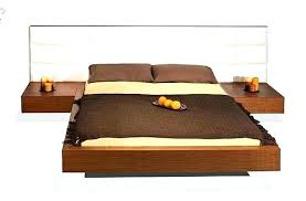bed with nightstands attached.  Bed Platform Bed With Nightstands Attached  In Bed With Nightstands Attached N