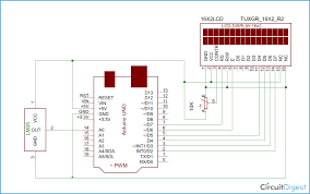 arduino based digital thermometer project using temperature sensor arduino based digital thermometer circuit diagram