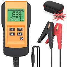 LEICESTERCN Battery Tester for Automotive Digital ... - Amazon.com