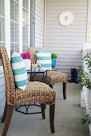 apartment patio furniture. 65a mini front porch refresh apartment patio furniture