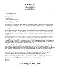 Cover Letter Sample For Supervisor Position 66 Cover Letter Samples And Correct Format To Write It