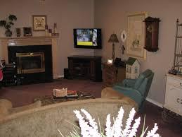 corner wall mount tv design
