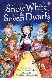 Snow White and the Seven Dwarfs (Usborne Young Reader) by Lesley Sims