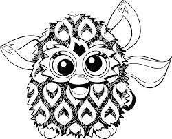 Afbeeldingsresultaat Voor Furby Boom Kleurplaat Furby Furby Boom