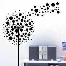 Small Picture Bubbles dandelion flowers wall sticker design Festival Wall