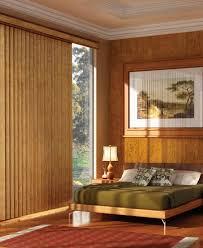 wooden valance for sliding glass door
