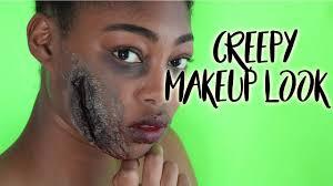 diy creepy makeup
