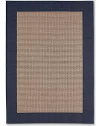 navy outdoor rug. Navy Frame Outdoor Rug - 6\u0027x9\u0027 Smith \u0026 Hawken, White Blue