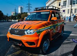 hunting control of primorski krai receives new uaz patriot <b>off</b>-<b>road</b> ...