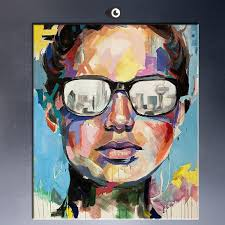 2018 fine art dallas portrait oil painting print on canvas free shipment abstract acrylic paintings from kittyfang 14 52 dhgate com