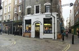mac cosmetics in london on the corner of newburgh street