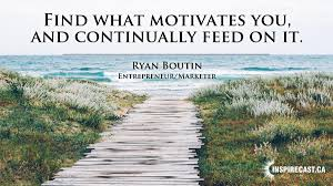 find what motivates you inspirecast find what motivates you