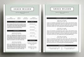 Two Page Resume Format Free For You 50 Best Cv Resume Templates Of