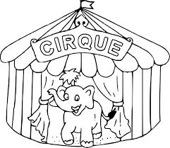 Coloriage De Cirque Imprimer Download Coloriage En Ligne Gratuit