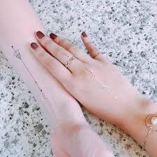 татуировки моющийся водный Paperself созвездие 2шт