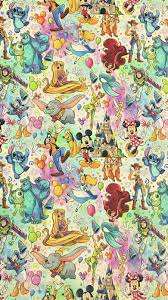 Disney wallpaper, Disney collage