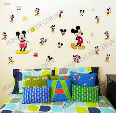 25pcs mickey mouse disney wall decals