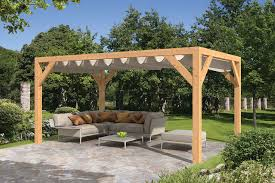 sliding shade awning planed larch sliding shade supporting structure