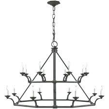 light fixtures visual comfort double tier chandelier in natural rust manufacturer ceiling lights fixture stirrup ralph