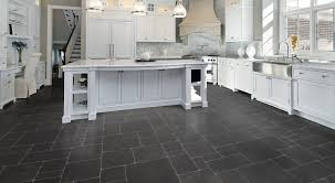 White Kitchens Dark Floors Vinyl Floor Floor Design Gorgeous White Grey Kitchen Decoration