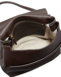 womens sideby equestrian leather cross messenger bag white the row white shoulder bag