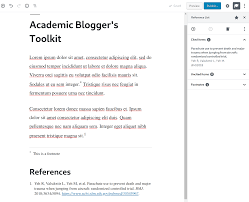 Academic Bloggers Toolkit Wordpress Plugin Wordpressorg