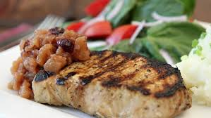3 large russet potatoes, cut into 1 cubes (skin on or off, your choice). Pork Chops Apple Chutney Technology Insider