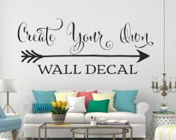 Small Picture Custom wall decal Etsy