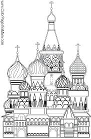 Coloring Pictures For Easterchurch Church Coloring Pages Church