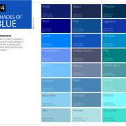 Blue In Green Chart 24 Shades Of Green Color Palette Graf1x Com