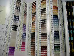 Paternayan Colour Chart Paternayan Elsa Williams Yarn Color Card Chart Tapestry