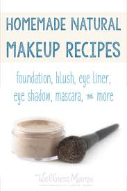 these diy natural makeup recipes can be made at home to avoid the chemicals in conventional