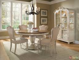 Round Dining Room Table And Chairs Provenance French Country Round Table Dining Set Fat Italian Chef