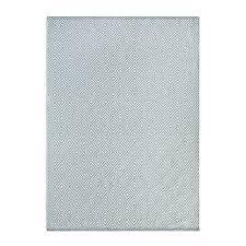 hug rug diamond 100 recycled rug sky grey 80x150cm