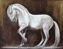 Het Logo Van Paard In Balans