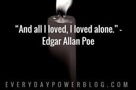 Edgar Allan Poe Life Quotes Classy Edgar Allan Poe Love Quotes Best Quotes Ever