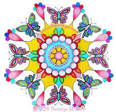 Small Picture Nature Mandalas Coloring Book by Thaneeya McArdle Thaneeyacom