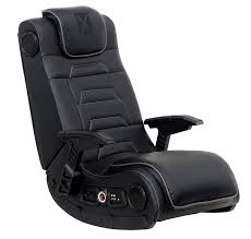 X Rocker Pro Series H3 Leather Vibrating Floor Gaming Chair